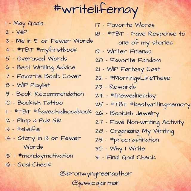 write life may